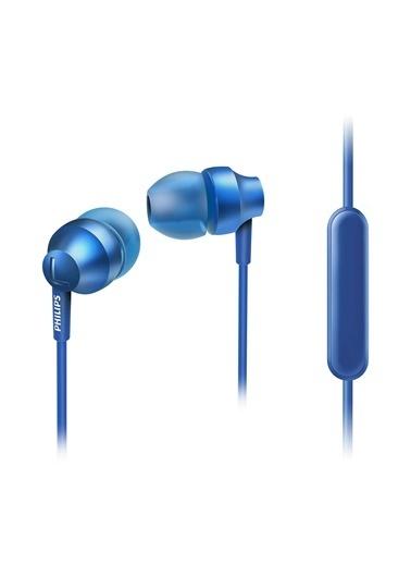 Philips SHE3855SL/00 Kulakiçi Mikrofonlu Mavi